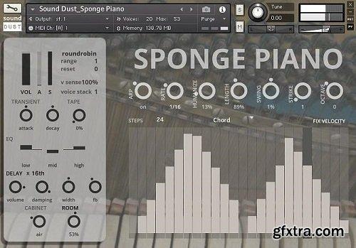Sound Dust Sponge Piano KONTAKT-AwZ