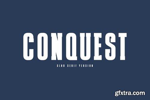 CM - CONQUEST Sans & Slab Serif 3570874