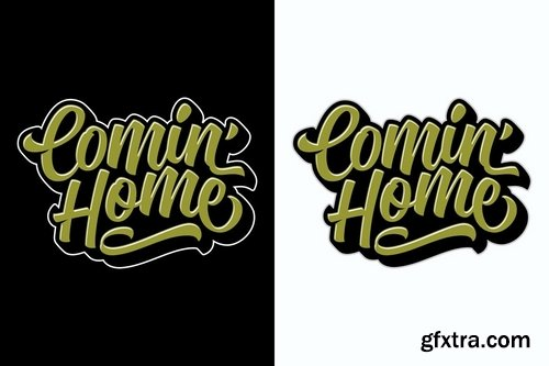 Comin\' Home, Chill and Relax Lettering Pack