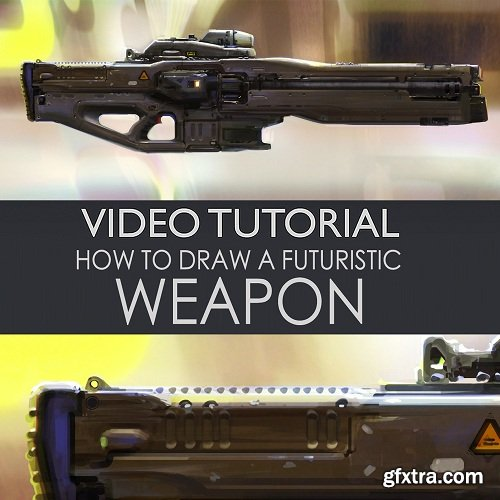 Gumroad – How to Draw a Futuristic Weapon