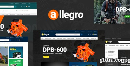 ThemeForest - Pav Allegro - Advanced Opencart Theme (Update: 19 January 18) - 19147037