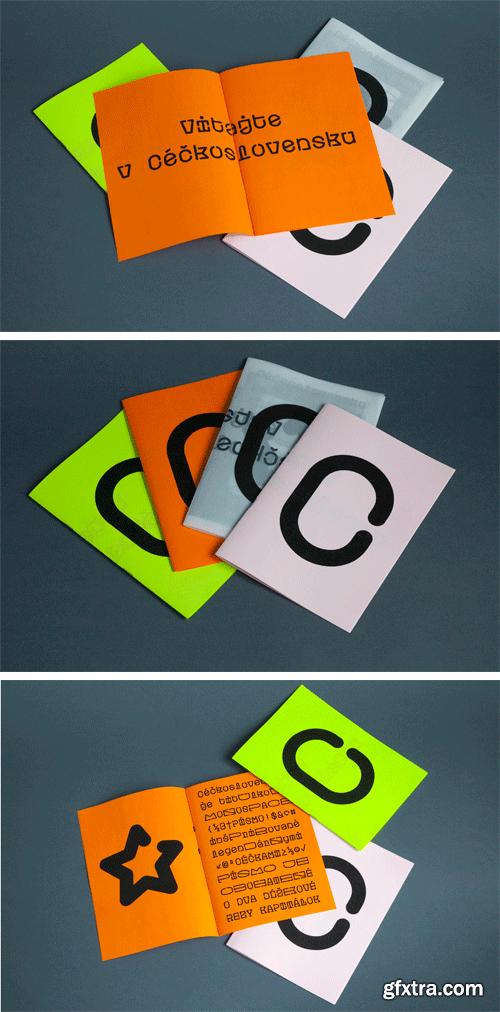 Ceckoslovensko Typeface