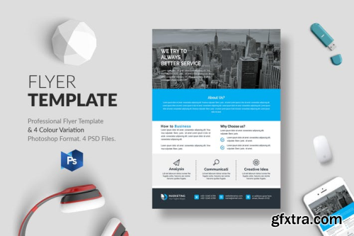 Business Flyer Template 16