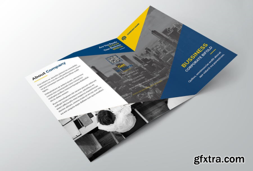 Bussiness Corporate Trifold