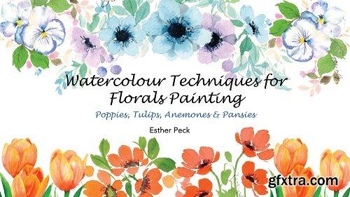 Watercolour Techniques For Florals Painting