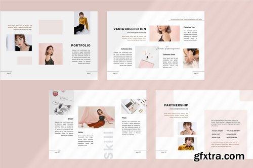 Vania Media  Press Kit Template