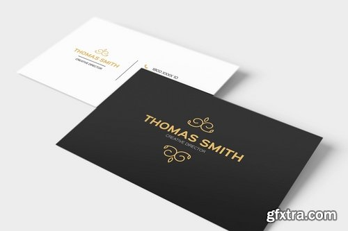 Modern Minimalist Business Card Template