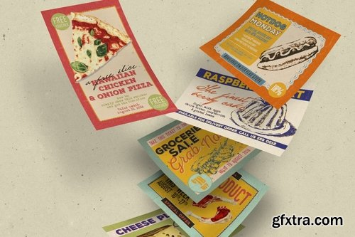 Vintage Food Label & Sticker