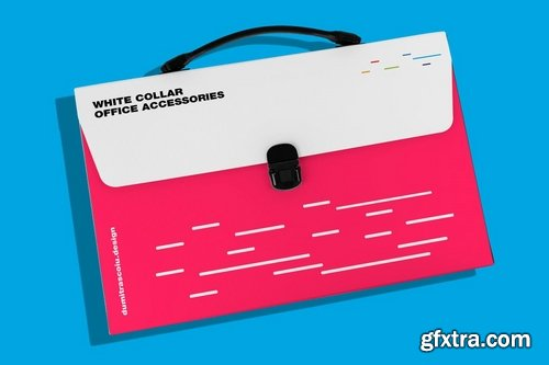 White Collar Office Mockup