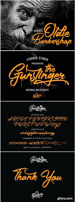 The Gunslinger Font