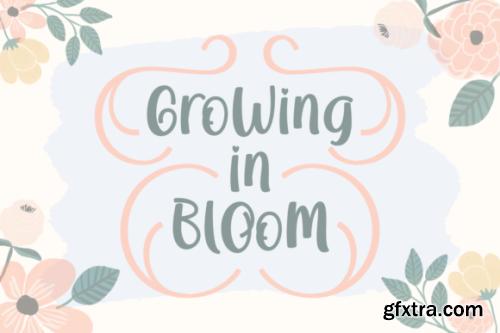 Growing In Bloom