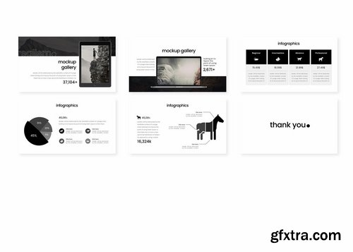Realism - Powerpoint Keynote and Google Slides Templates