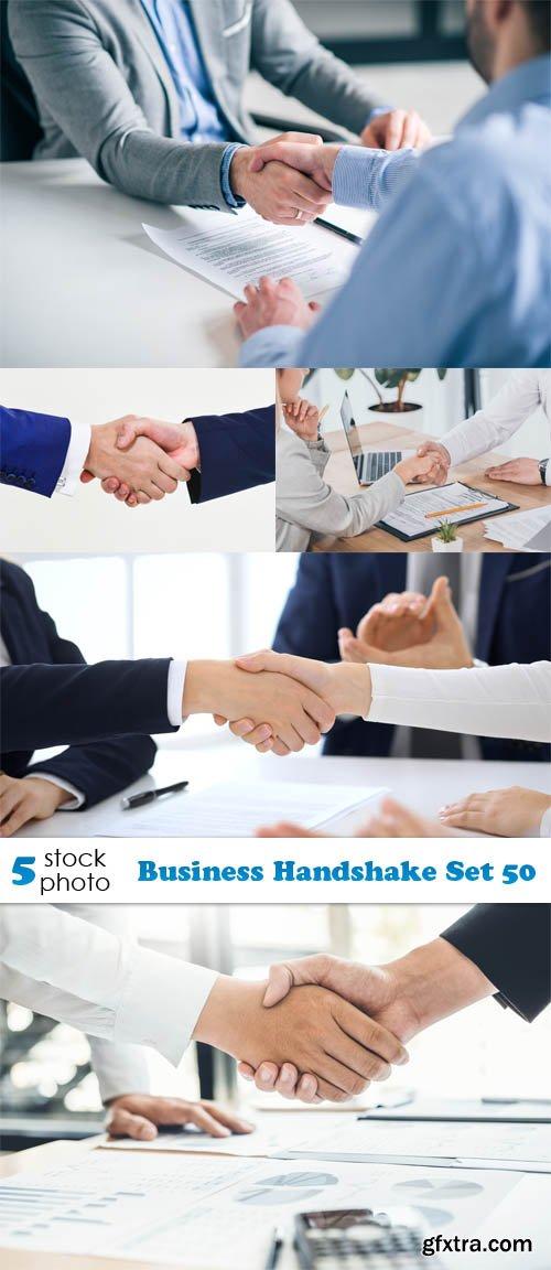 Photos - Business Handshake Set 50