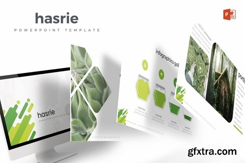 Hasrie - Powerpoint Keynote and Google Slides Templates