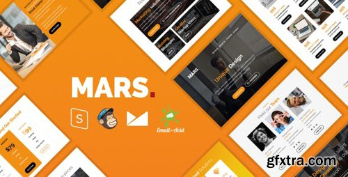 ThemeForest - Mars Email - Responsive Email Template with MailChimp Editor, StampReady & Online Builder (Update: 30 January 19) - 20409188