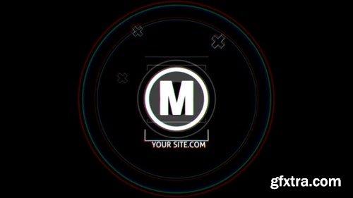 MotionArray Glitch Logo 197103