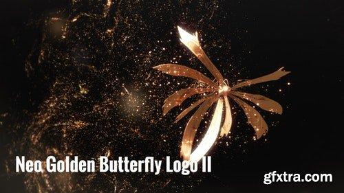 MotionArray Neo Golden Butterfly Logo II 196821
