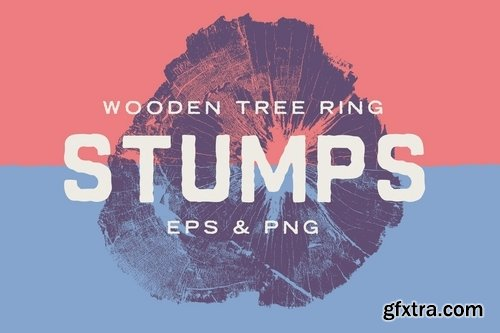 Wood Tree Stumps
