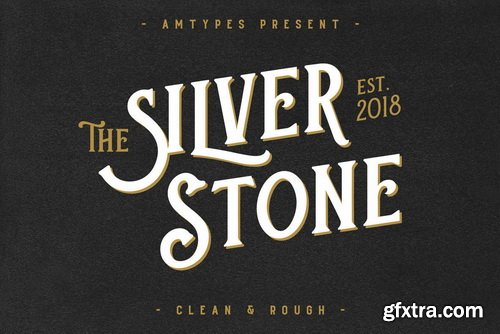 Silver Stone Font Family