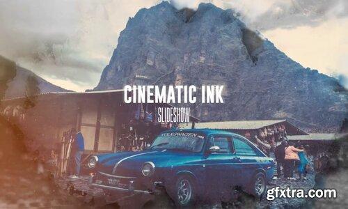 Videohive - Cinematic Ink Slideshow - 13002374