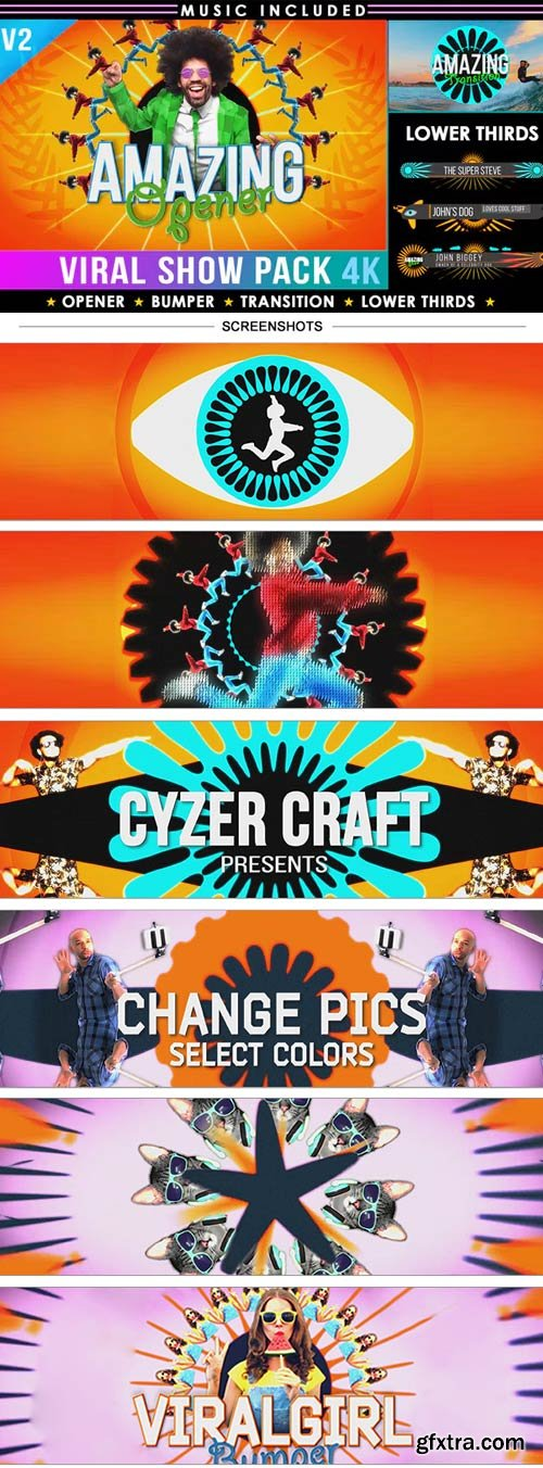 Videohive - Colorful Summer Intro Show Pack V.2 - 2909321