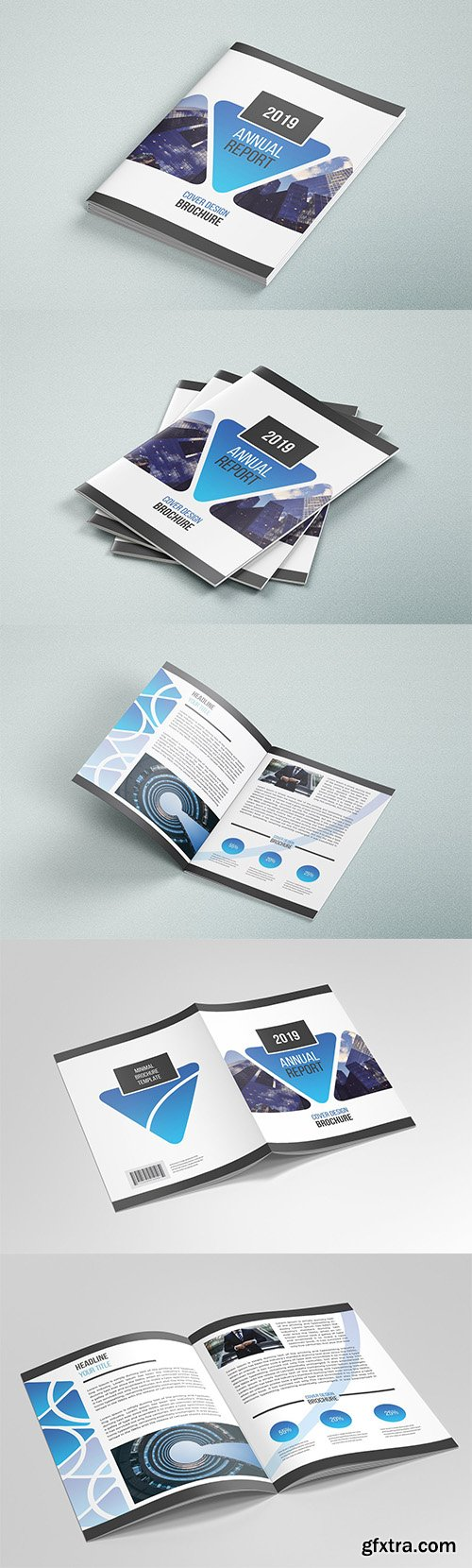 CreativeMarket - Business Brochure Template 04 3590222