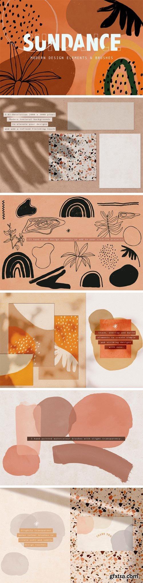 CM - SUNDANCE | Design Elements + Brushes 3445189
