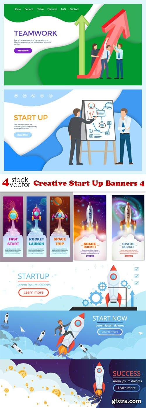 Vectors - Creative Start Up Banners 4