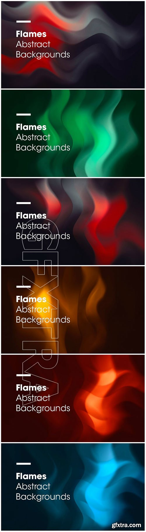 Flames Abstract Backgrounds