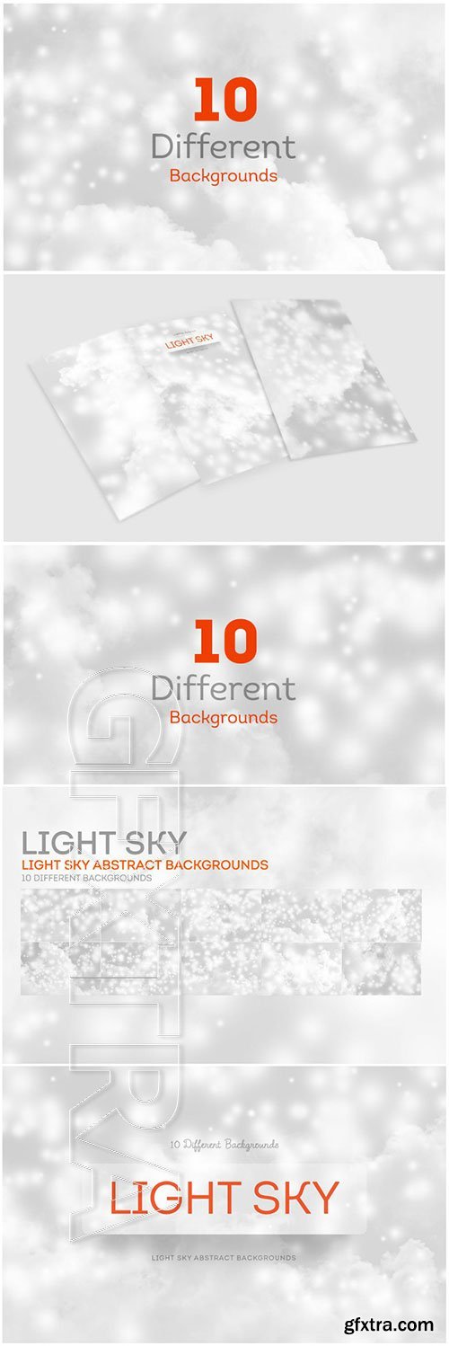Light SKY Abstract Backgrounds