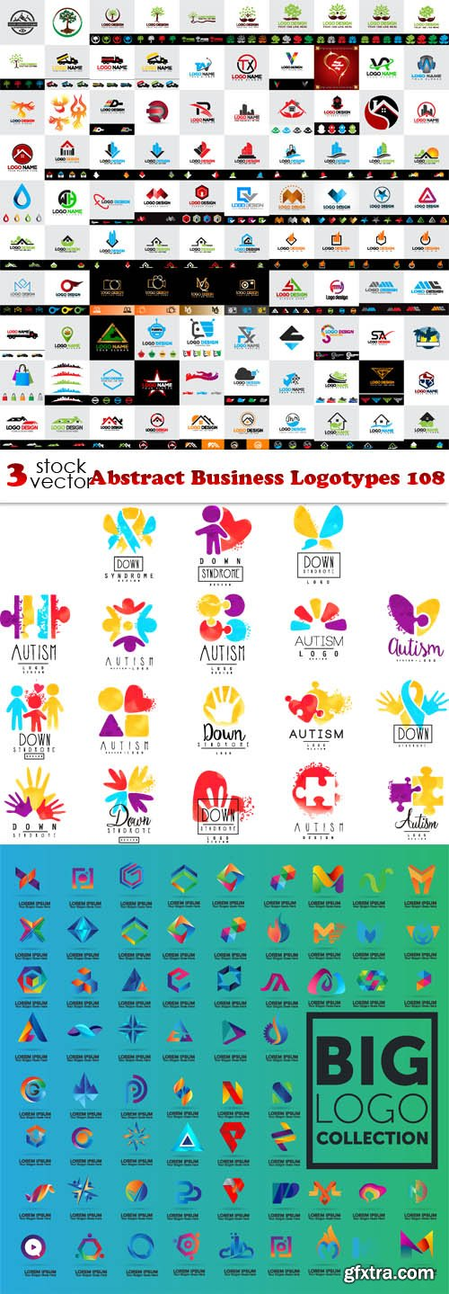 Vectors - Abstract Business Logotypes 108