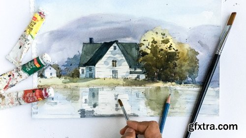Gift This Course WATERCOLOR Guide - Explore the joy of Watercolor painting