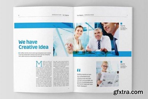 Gradient Magazine Template