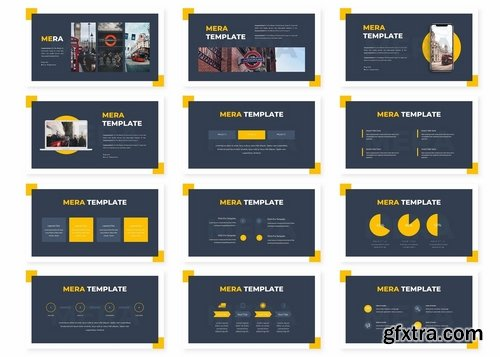 Mera - Powerpoint Keynote and Google Slides Templates