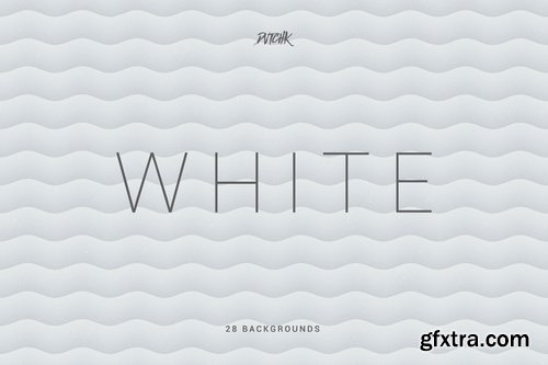 White Soft Abstract Wavy Backgrounds