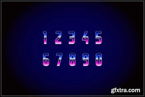CM - Retrofuturism OTF Vaporwave Font 3597346