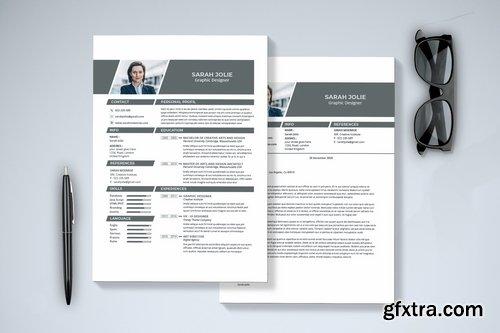 Minimal Resume & Cover Letter
