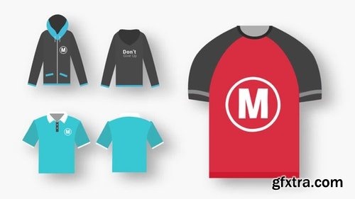 MotionArray T-Shirts Animated Mockups 199034