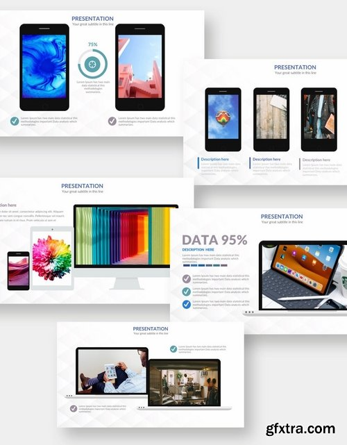 IT Device - Powerpoint and Keynote Templates