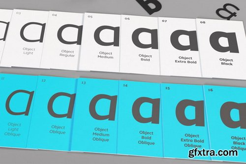Object Font Family