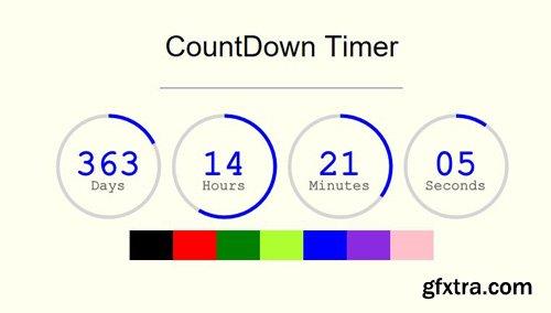 CodeSter - Circle Countdown Timer jQuery v1.0 - 9429