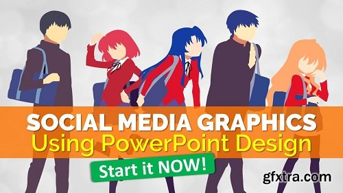 Social Media Graphics using PowerPoint Design | Hands On