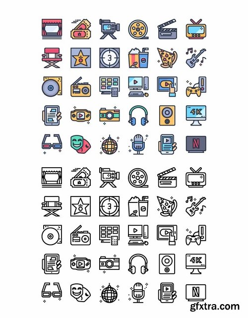 30 Entertainment Icons