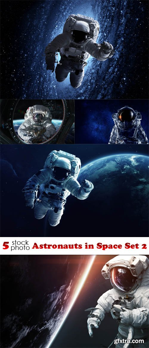 Photos - Astronauts in Space Set 2