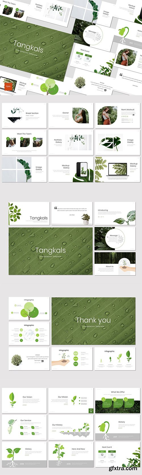 Tangkals - Powerpoint Keynote and Google Slides Templates