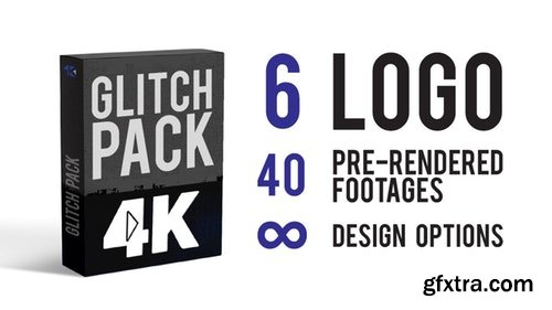 MotionArray Glitch Pack 4K 198315