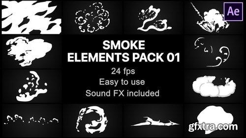 MotionArray Smoke Elements Pack 01 197919