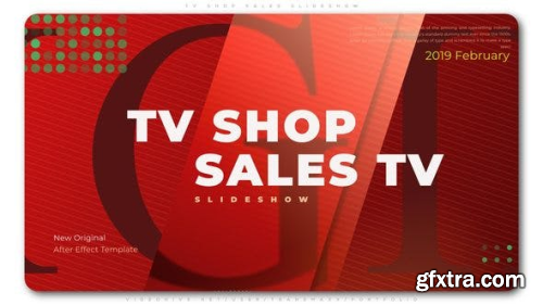 Videohive TV Shop Sales Slideshow 23344417
