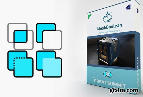 MeshBoolean 1.6 for Cinema 4D