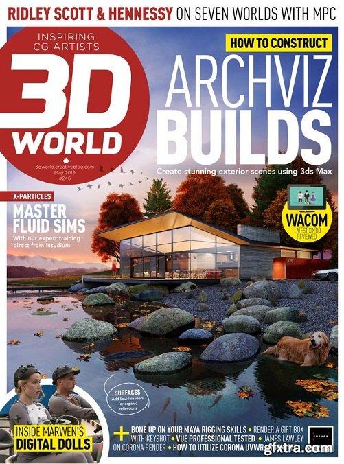 3D World UK - May 2019